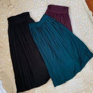 Dresses & Skirts - Bundle of THREE maxi skirts
